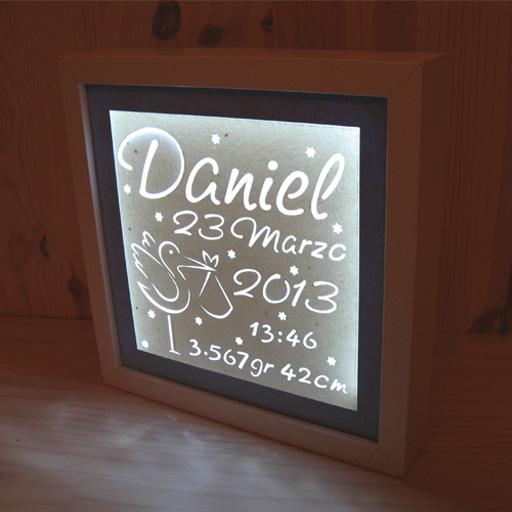 Artenpapel regalos personalizados iluminacion - Lamparas personalizadas ...